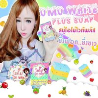 Wholesale New Arrivals OMO White Plus Soap fruitamin soap Mix Color Plus Five Bleached White Skin Gluta Rainbow Soap