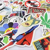Wholesale 200x Luggage Stickers Skateboard Graffiti Decor Laptop Luggage Vinyl Car Decals Xmas Gift Decor Home Gardem Decor