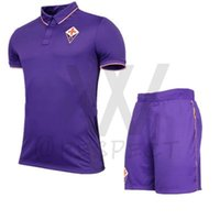 beige short sleeve cardigan - 2017 Florence Home set Purple soccer Jerseys pants Uniforms home M gomez Bernardeschi Blaszczykowski Kalinic vestiti football