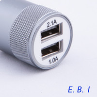 Wholesale Fashion Car Charger A Aluminium port Adapter Car USB Universal for Normal Usb Phone For Iphone Samsung