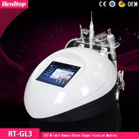 acne spray - 2016 Home Use in Oxygen injection jet peel oxygen spray skin rejuvenation hyperbaric chamber oxygen therapy machine with Led