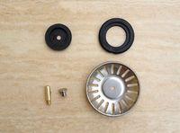 Wholesale Kitchen Basin Drain Dopant Sink Waste Strainer Basket Leach Plug Stainless Stee