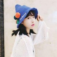 basic crochet hat - Women Fashion Outdoor Fisherman Hat Basic cap Bucket Hat Foldable Sun Crochet Hats Beach Hat Top hats drmz a16