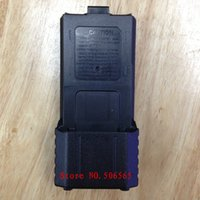 aa battery eliminator - Blck color x AA extended battery case box shell eliminator for baofeng bf uv5r re tyt th f8 tonfa tfuv985 etc walkie talkie