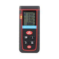 Wholesale Mini Digital Laser Range Finder LCD Handheld Professional Distance Meter Area And Volume Measuring Range to100m With Self calibration