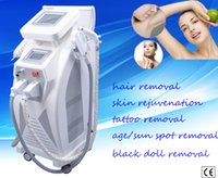 Wholesale 2016 Newest Popular OPT SHR IPL Machine Painfree Permanent Hair Removal Skin Rejuvenation Pigment Therapy Laser Tattoo Removal Machine price