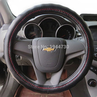 Cheap steering wheel leather cover Best leather steering wheel cover