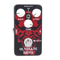 adjustable pedal - JOYO JF Adjustable Knobs Ultimate Drive Overdrive Guitar Effect Pedal Different from the Normal Diode Clipping Circuit