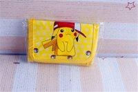 Wholesale 2016 NEW Pikachu Coin purses poke go ball Children Purse Wallet Card Holder Poket Monster Pikachu Cartoon student Kids Pouch Wallet Coin