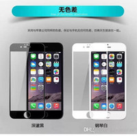 aluminium guards - 0 mm D For iphone Plus Metal Full Aluminium Premium Tempered Glass Film Screen Protector Guard H for iPhone plus