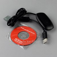 Cheap PC USB Gaming Receiver For PC Windows 7 8 For Xbox 360 Slim Wireless Controller Pad Gamepad for Xbox360