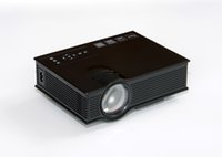 Wholesale UNIC UC40 LM x Pixels Simplified Micro Projector for Home Business US Plug