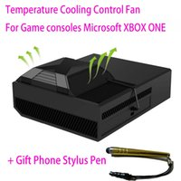auto intercooler - For XBOX ONE Fan USB Powered Auto sensing External Intercooler Temperature Control Cooling Fan For Microsoft XBOX One consoles