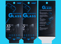 Wholesale 1000pcs mm Empty Retail Package Boxes Packaging for XS Premium Tempered Glass H Screen Protector Sony iphone samsung Free DHL