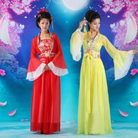 Wholesale Retail Women s Cosplay Costume National Style Dance Clothes Fairy Princess Tang Suit Hanfu Queen Chinese Ancient Clothing UA0159 salebags