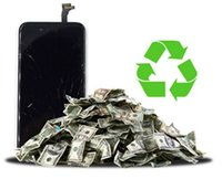 apple mobile phone service - Good price cracked broken LCD screen display recycle repair service buying mobile phone LCD broken cracked touch screen