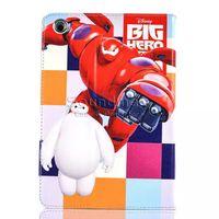 big air bags - Baymax Big Super Hero PU Auto sleep wake Case for iPad air Mini OPP BAG