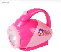 Wholesale Children toy set mini appliances series baby toy flashlight