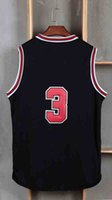 Wholesale Basketball Jerseys Classical Black Red White Basketball Jersey Men Sports wear embroidered name number soccer wears
