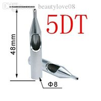 Wholesale DT stainless steel Nozzles Tattoo Tip For Tattoo Needle Kits Hot Sale Fast Shipping