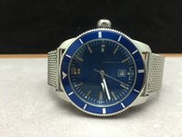 best franks - Frank Watch Factory Superocean Herie Luxury Brand Mens Watch Mechanical Watches Automatic Blue Dial Date stainless Steel Strap Best Gift
