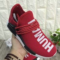 best hiking shoes women - With Box Adidas Originals Best NMD quot HUMAN RACE quot Pharrell Williams x Men Women Authentic Online Cheap Fashion Sport Shoes