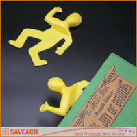 Wholesale Interesting Dead Mark Bookmark Crushed People Bookmarks Creative Help Me Bookmark For Books Paper Clips Office Supplies