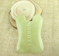 Wholesale Jade Scraping Gua Sha Massage Tool Board of Chinese Traditional Medical Technology SPA Acupuncture Therapy Trigger Point Treatment