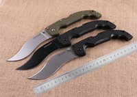 abs voyager - 10 Styles Available COLD STEEL VOYAGER Black Drop Point Tanto Half Serration Black ABS Glass Fiber Handle Survival Camping Hunting Knife