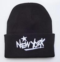 al por mayor winter hats wholesale-La nueva manera 2016 del sombrero del invierno de la hip-hop de los estilos la manera al por mayor del salto de la cadera cuffed las gorritas tejidas orden mezclada de beanies de los equipos de deportes del catálogo