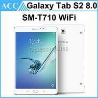 Wholesale Refurbished Original Samsung Galaxy Tab S2 SM T710 T710 inch Wifi GB RAM GB ROM MP Camera Android Tablet PC DHL