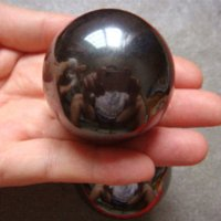ball magnetite - Hot Natural mm Big Magnetic Hematite Magnetite Polished Gems Round Ball Sphere For Health