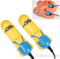 Wholesale Dehumidify Electric Despicable Me Sterilizer Deodorizer Minions Shoes Dryer Hot Sales Brand New Good Quality Brand New
