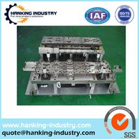 aluminum custom stamping - custom industiral components metal die aluminum stamping parts with low price
