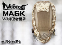 airsoft protect - CS Skull Full Face Mask Tactical Paintball Airsoft Protect Safety Horror Mask Halloween Cosplay Dress Mask Field Tactical equipment fencing