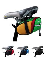 Wholesale Bike Bicycle panniers Roswheel Outdoor Cycling Mountain Bike Bicycle Saddle Bag Back Seat Tail Pouch DHL