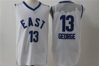 big paul - 2016 Elite new football jerseys Paul George Player Jersey Embroidery White jerseys Big order for DHL