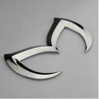 Wholesale 3D Car Sticker Metal Rear Car Emblem Badge Sticker Decal For Mazda CX CX MX Miata RX Tribute
