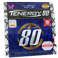 table tennis rubber - Butterfly Tenergy Table Tennis Rubber T80 Ping Pong Rubber mm Red Sponge