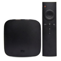 Wholesale 2016 Original Xiaomi Mi Android MiBox Pro S Smart TV Box K HD Miorring G G Meory Wi Fi GHz Wireless Miracast Airplay DLNA