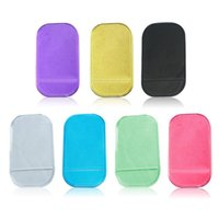 Wholesale 1Pcs Colorful Fast Shipping Practical Silicone Skin Mat Car Mat Sticky Pad Antiskid Mat Non slip Mat Holde Random Color order lt no track