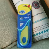 Wholesale new brand Scholl Gel Activ Work Insoles for Men women Soft silicone damping insole DHL
