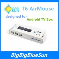 air controler - 2 GHz Wireless Mini Keyboard T6 Air Mouse T6 Fly Air Mouse Multi Media Remote Controler for TV Box Android Mini PC