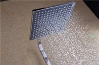 Wholesale Rainfall Overhead Shower Head Square And Retail quot ABS Chrome Rain Shower Head On Sale