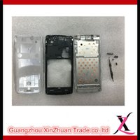 arc ericsson - Full Housing Body Chassis Transparent Thickness Cover Replacement Parts For Sony Xperia Arc S LT15i LT18i