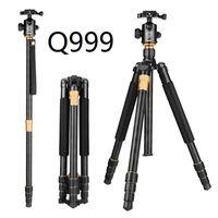 Wholesale Qzsd Q999 Professional Photographic Portable Tripod To Monopod Ball Head For Digital SLR DSLR Camera Fold cm Max Loading Kg