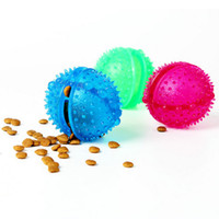 Wholesale Natural Rubber Leakage Food Ball For Dog Cat Fun Food Dispenser Slow Feeder Chew Ball Pet Toy