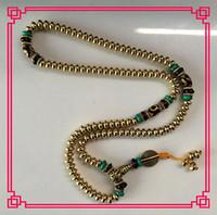 Wholesale China tibet Buddhist Prayer Bead Mala Necklace Bracelet Beads eye Dzi