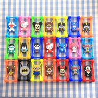 batman bumper - Universal D Cartoon Silicon Frame Bumper Case Mickey Superman Batman Cases Suit For Iphone Samsung Xiaomi Huawei ect Under Screen