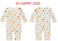 Wholesale Mon s care brand variety baby Bodysuits infant clothing romper jumpsuit longtsleeves for Baby girl boy